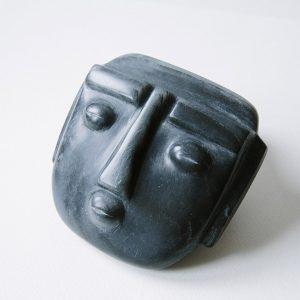 masque tête sculpture